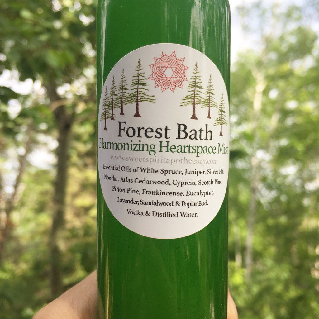 Forest Bath-Harmonizing Heartspace Mist