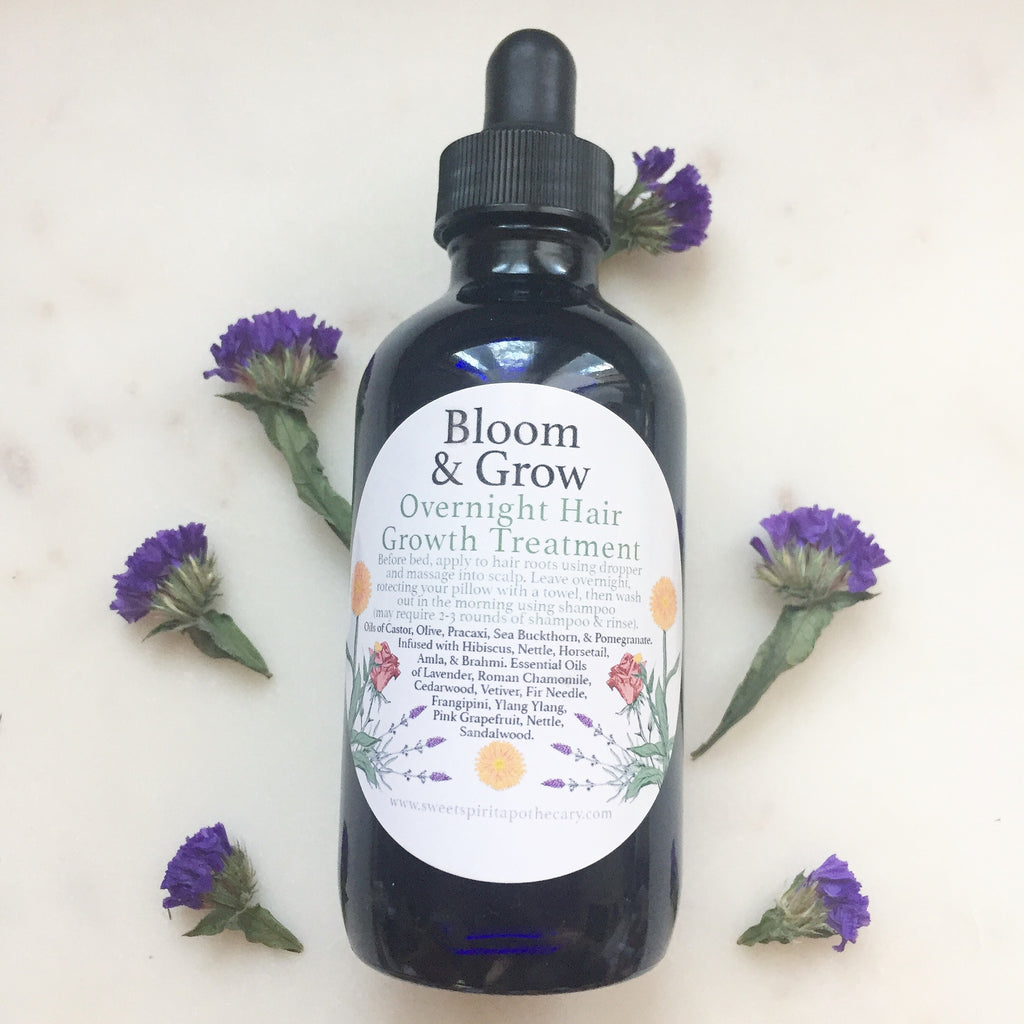 Bloom and Glow-Overnight Hair Growth Treatment