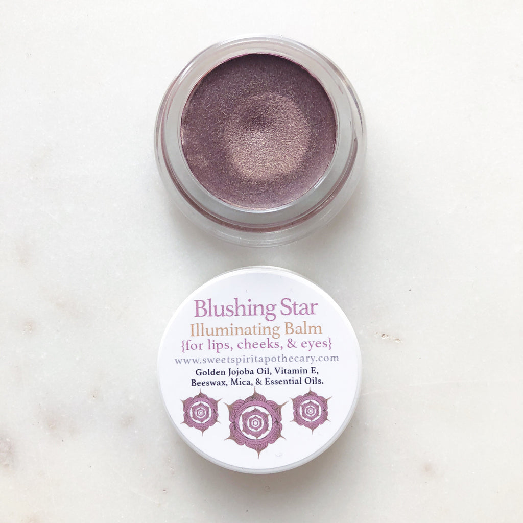 Blushing Star~Illuminating Balm~ for lips, cheeks, and eyes!