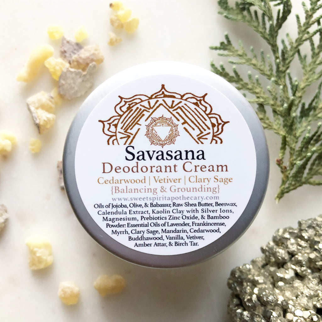Savasana~Deodorant Cream~Balancing and Grounding
