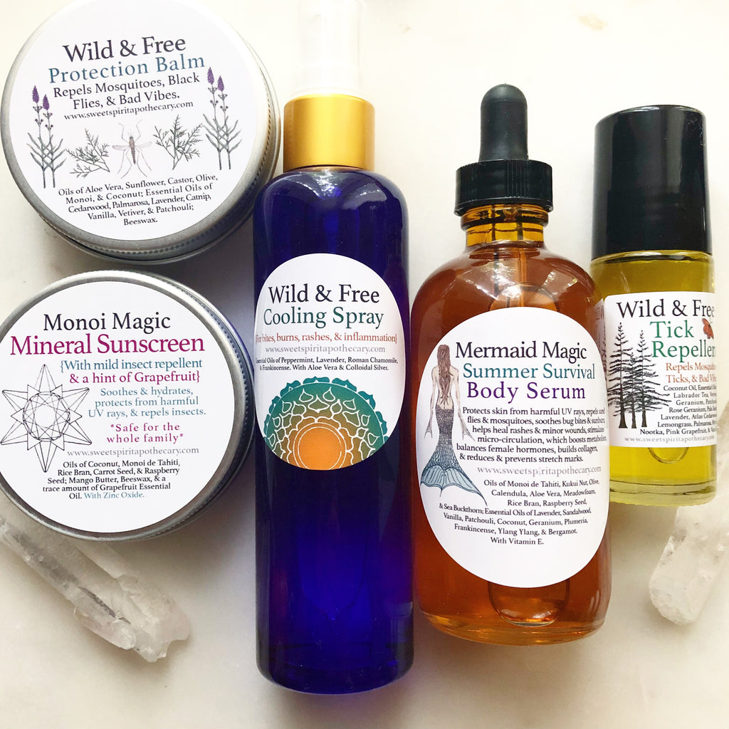 Wild and Free~Summer Survival Kit