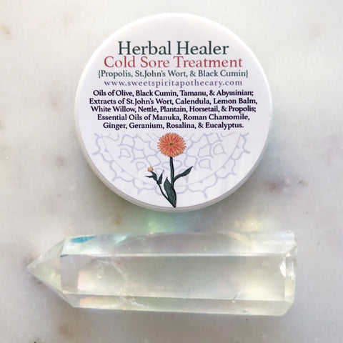 Herbal Healer~ Cold Sore Treatment