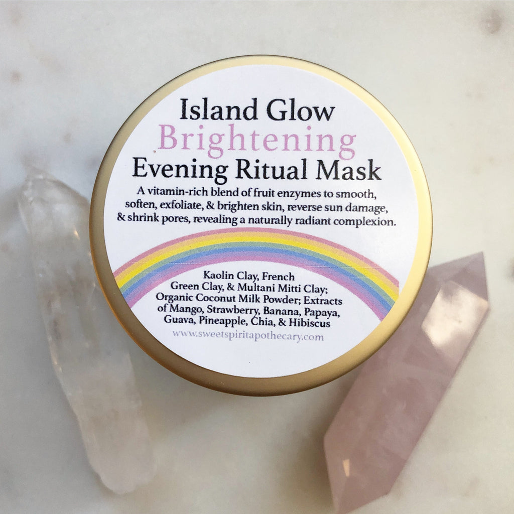 Island Glow -Brightening-Evening Ritual Mask