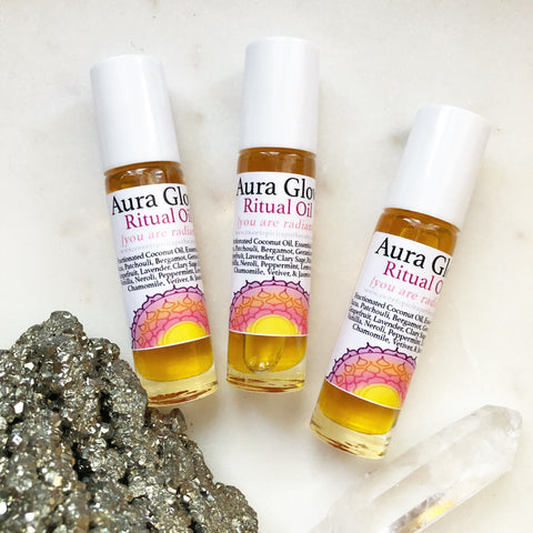 Aura Glow- You Are Radiant-Chakra Balancing Aromatherapy Roller