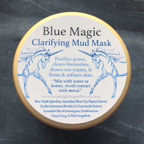 Blue Magic Clarifying Mud Mask