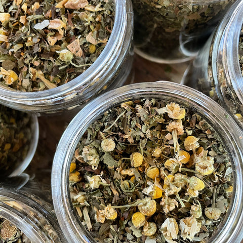 Divine Glow~Organic Herbal Blend~ detox and digestion tea, facial steam, hair rinse