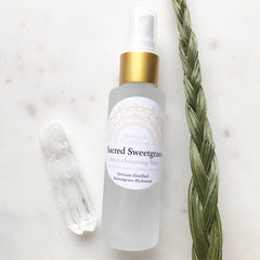 Sacred Sweetgrass~Artisan Distilled~Aura Cleansing Mist