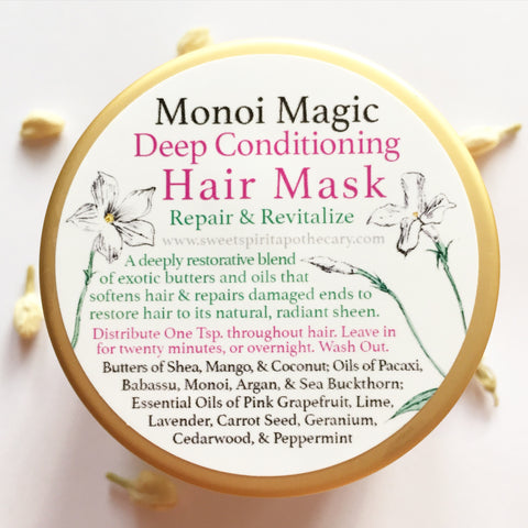 Monoi Magic-Deep Conditioning Hair Mask