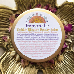 Immortelle~ Golden Blossom Beauty Balm~ with Sun Protection and natural retinol