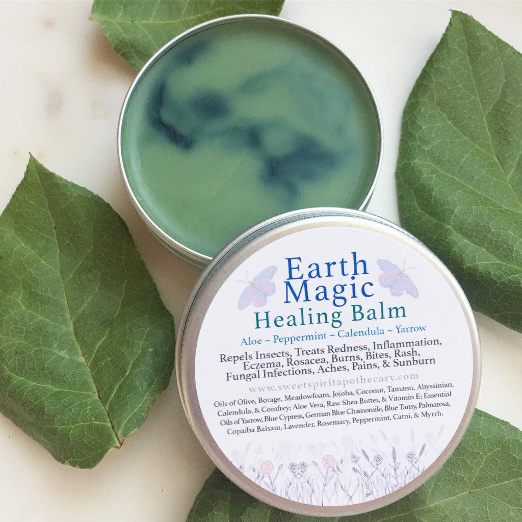 Earth Magic Healing Balm (with natural bug repellent)