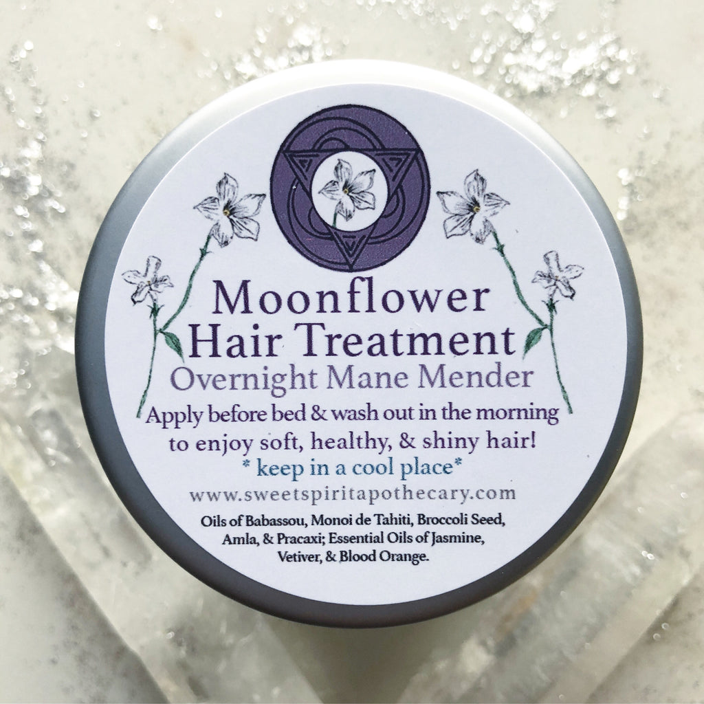 Moonflower~Hair Treatment~ Overnight Mane Mender