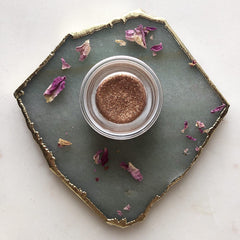 Radiant Heart~ Sparkling Perfume Balm~Rose and Frangipani