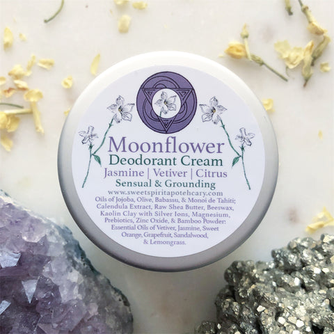 Moonflower~Deodorant Cream~ Sensual and Grounding