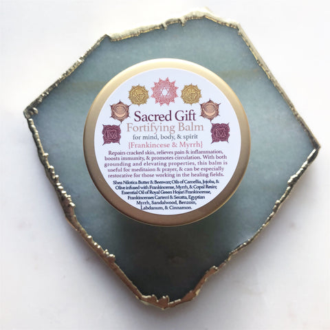 Sacred Gift~Frankincense and Myrrh Fortifying Balm