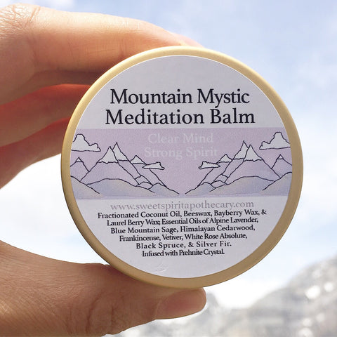 Mountain Mystic Meditation Balm