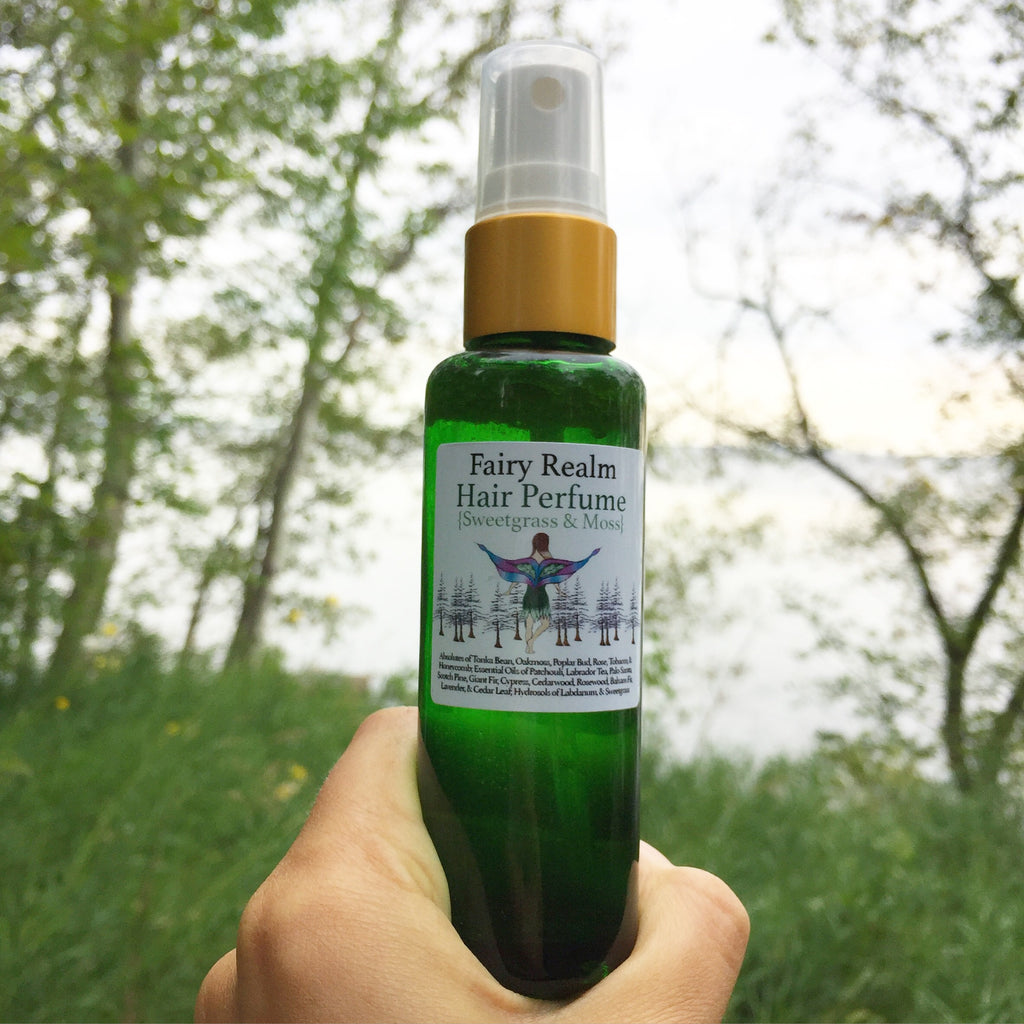 Fairy Realm ✨ Hair Perfume (Sweetgrass and Moss)
