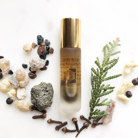 Earth Star {Balancing} Ritual Perfume Oil {Autumn Equinox}