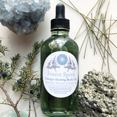 Forest Spirit~ Bath and Body Oil