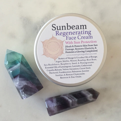 Sunbeam Face Cream -with natural sun protection