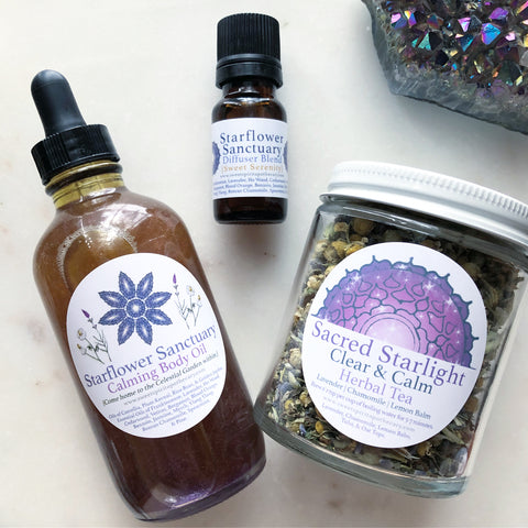 Starflower Sanctuary~Clear and Calm~Relaxation kit