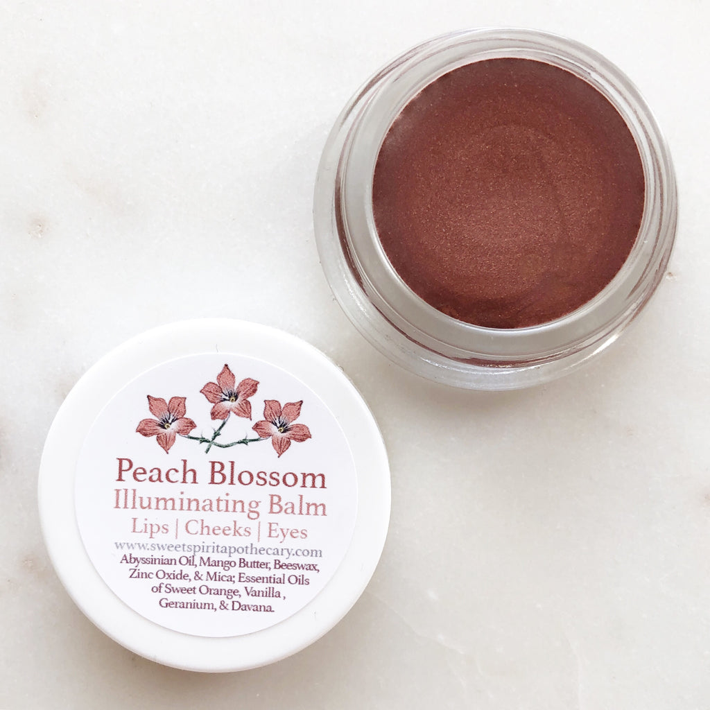 Peach Blossom~Illuminating Balm~ Lips, Cheeks, Eyes
