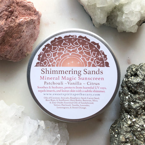 Shimmering Sands~ Mineral Magic Sunscreen