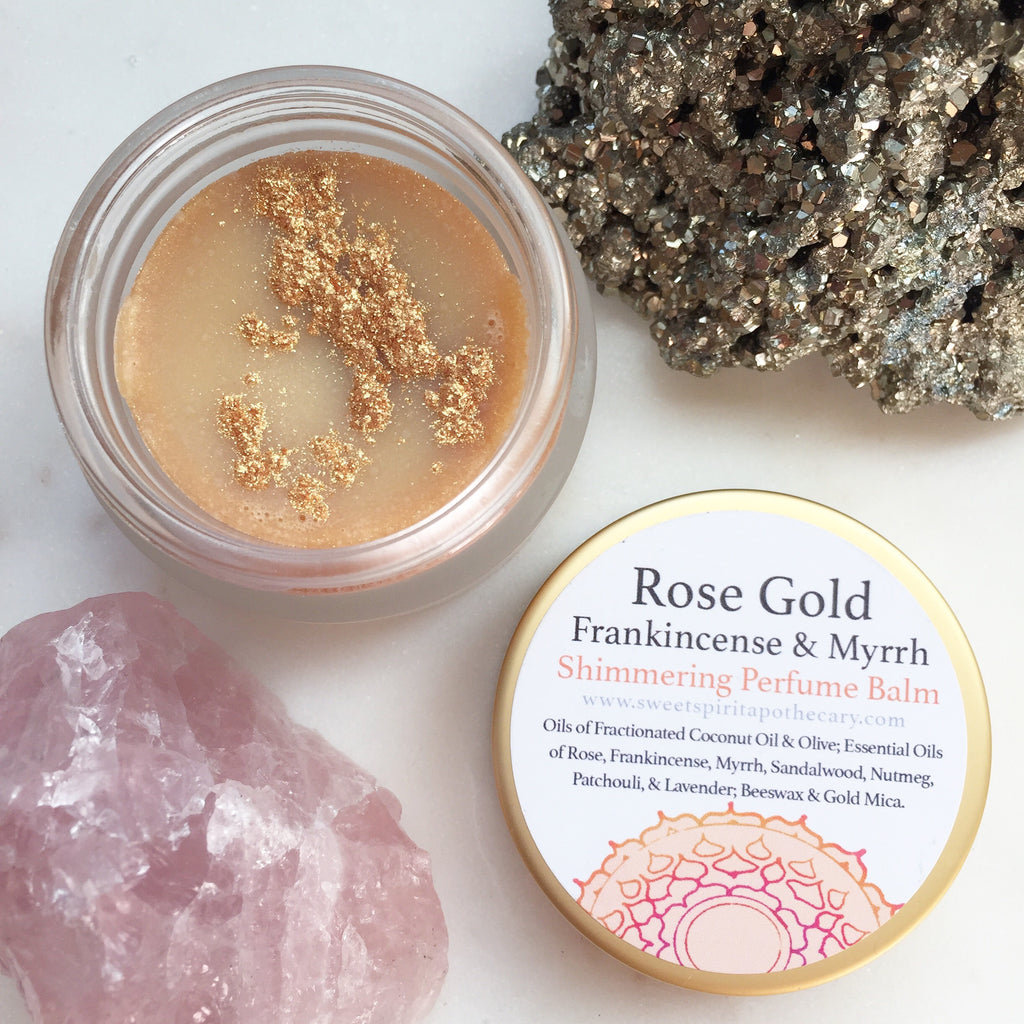 Rose Gold -Shimmering Perfume Butter