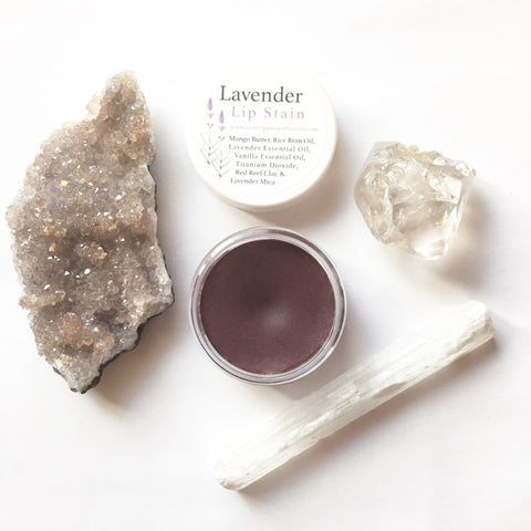 Lavender Natural Lip Stain