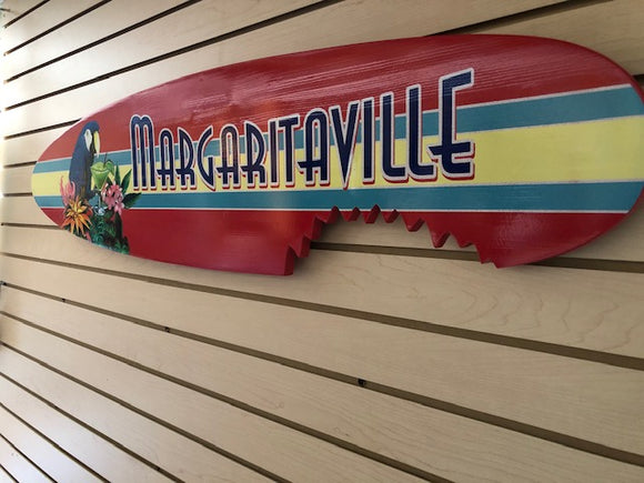 Margaritaville Wall Sign Parrot