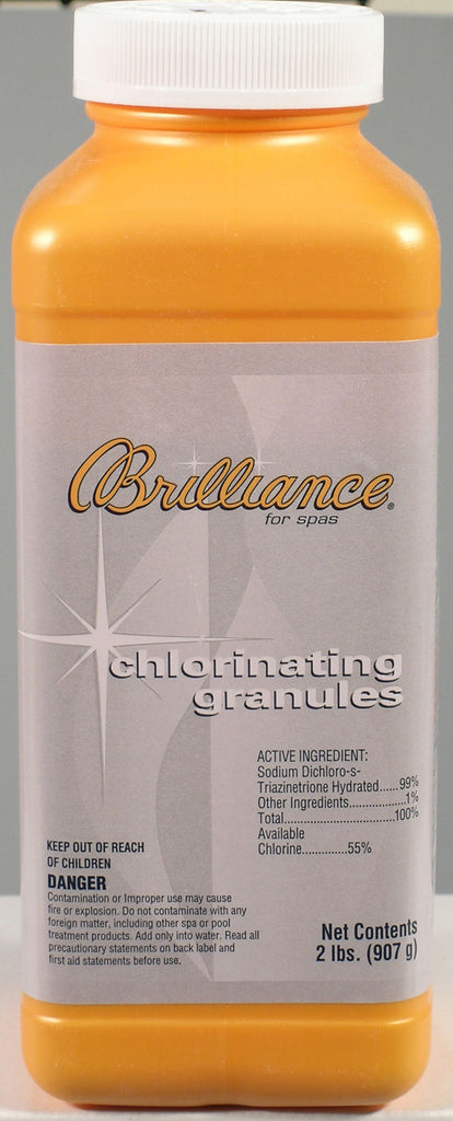 Brilliance for Spas: Chlorinating Granules (2 Pounds)
