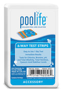 poolife 6-Way Test Strips