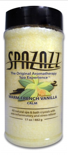 Spazazz Warm French Vanilla (Calm) Crystals 17 oz