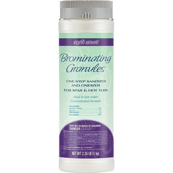 Soft Soak Brominating Granules 2.25 pounds