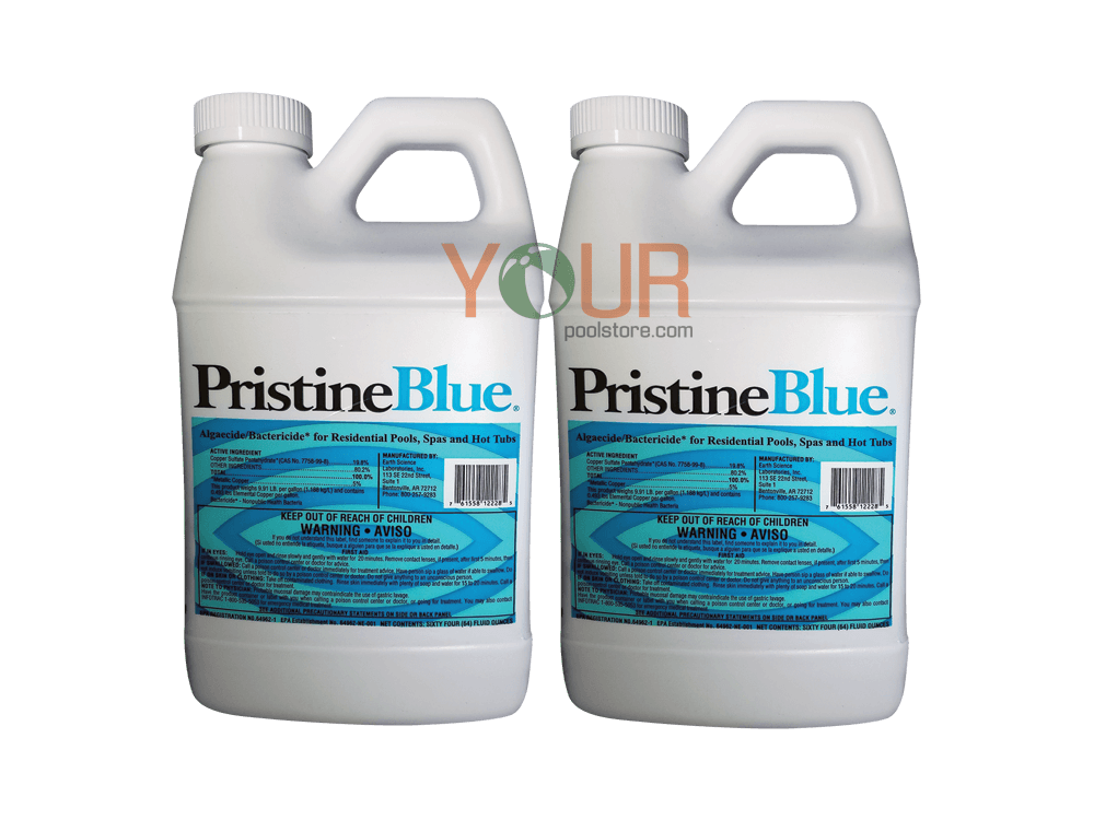 Pristine Blue (64 Ounce) 2 Pack