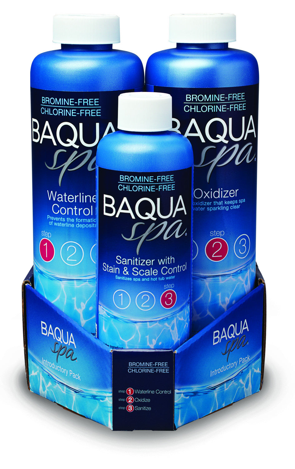 Baqua Spa 3 Part Pack
