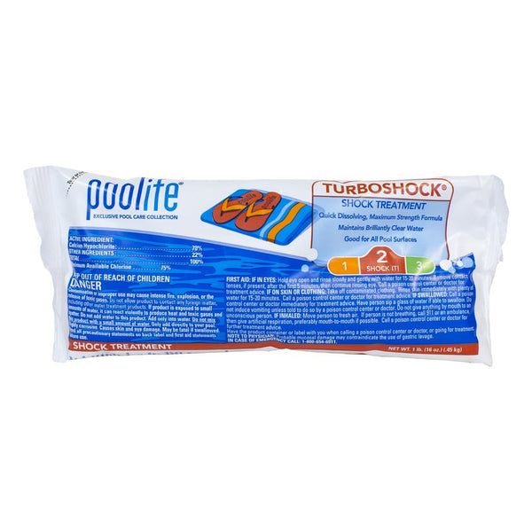 Poolife Turbo Swimming Pool Shock (24 x 1 Pound Bags)