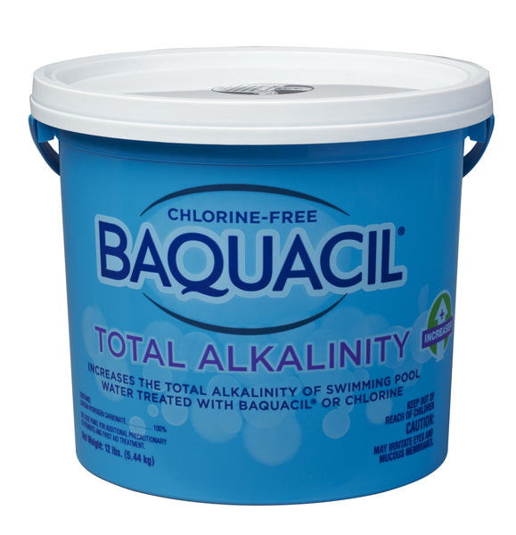 Baquacil total alkalinity increaser Swimming pool high alkalinity