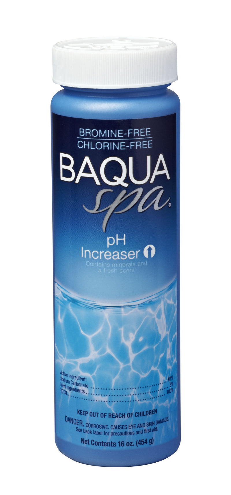 Baqua Spa pH Increaser w/ Mineral Salts