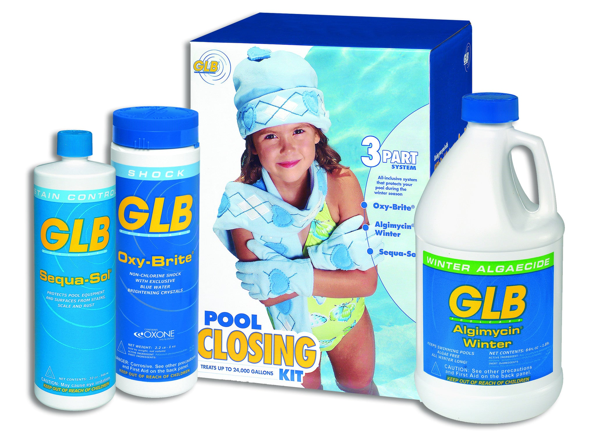 GLB Winter Swimming Pool Closing Kits