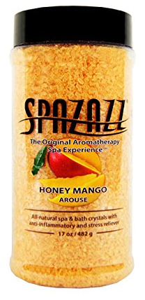 Spazazz Honey Mango (Arouse) Crystals 17oz Container