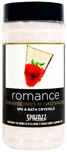 Spazazz Strawberries N' Champagne (Romance) Set The Mood Crystals 17 oz