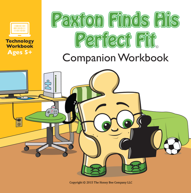 Workbook for Paxton Finds His Perfect Fit