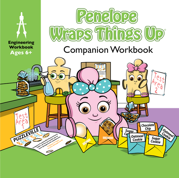 Workbook for Penelope Wraps Things Up