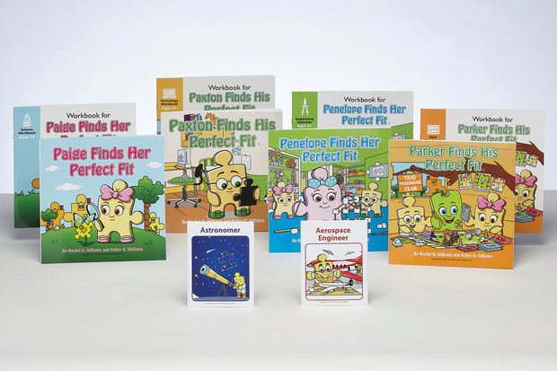 Paige & Paxton Intro to STEM Storybook & Workbook Set (FREE GIFT with Purchase)