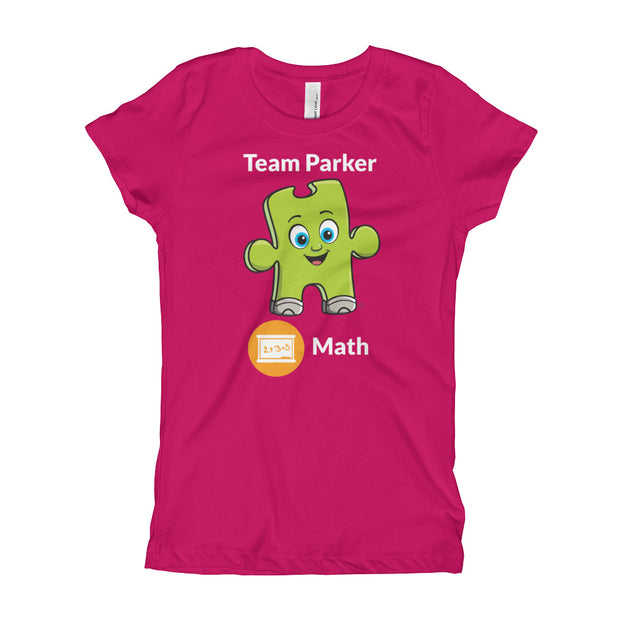 Girl's Team Parker Math T-Shirt