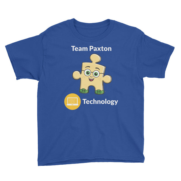 Team Paxton Technology Youth Short Sleeve T-Shirt