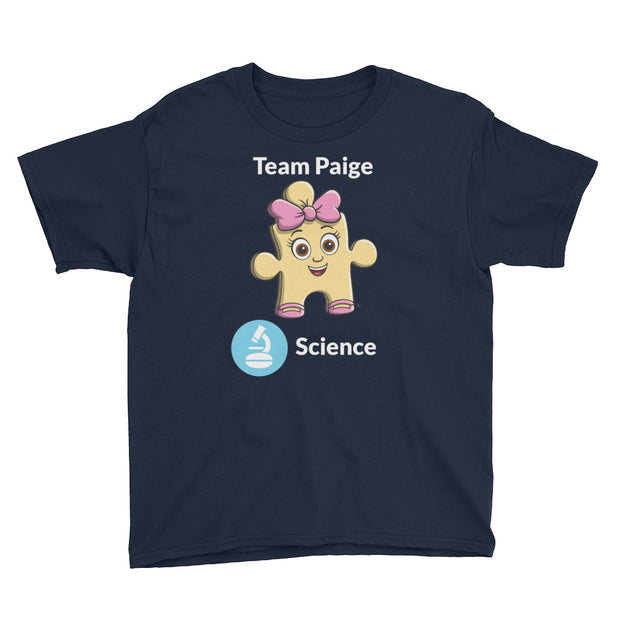 Team Paige Science Youth Short Sleeve T-Shirt