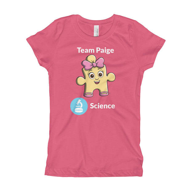 Girl's Team Paige Science T-Shirt