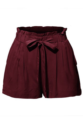 Ruby Leather Short