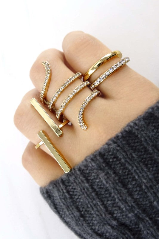 Statement Ring set - Spoiled Me Rotten Boutique